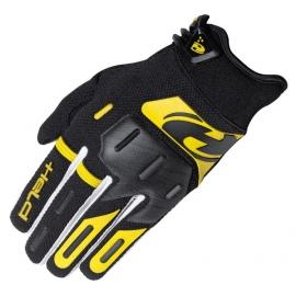 Crossové rukavice Held HARDTACK černá/žlutá