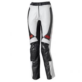 Dámské kožené moto kalhoty Held SARANA bílá/černá