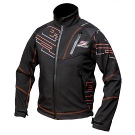 Pánská softshellová bunda Spark Freedom černá, vzorek
