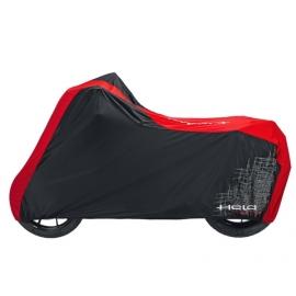 Prodyšná krycí plachta Held na motocykl, černá/červená