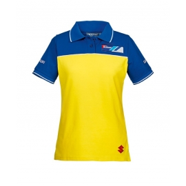 Dámské polotričko Suzuki Team žluté, originál