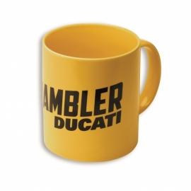 Hrnek Ducati Scrambler Milestone žlutý