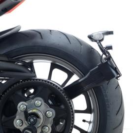 Držák SPZ RG Racing pro motocykly Ducati X Diavel / S,16-, černý
