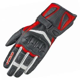 Dámské sportovní moto rukavice Held MYRA černá/červená, kozí/klokaní kůže