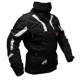 Pánska textilná moto bunda Spark Adventure, Black