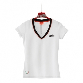 Dámské tričko Aprilia s krátkým rukávem, vel. XL (výprodej)