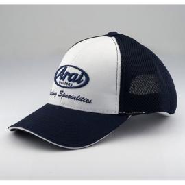 Čepice kšiltovka ARAI bílá/modrá, síťovanou zadní část