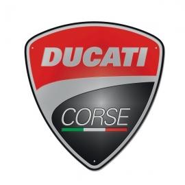 Plechová cedule Ducati Corse