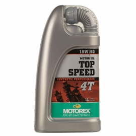 Motorový olej Motorex Top Speed 4T 15W/50, 1L