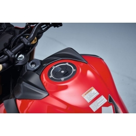 Ochranný kryt nádrže Suzuki černý, originál