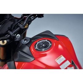 Ochranný kryt nádrže Suzuki karbon, originál