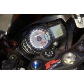 Ochranná samolepka budíků karbon vzhled Suzuki, originál