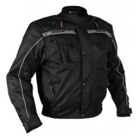 Pánska textilná moto bunda Spark Trackadvance, čierna