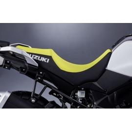 Nižší sedlo žluto-černé Suzuki, originál