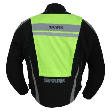 Pánská textilní moto bunda Spark Genesis, černá
