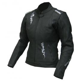 Dámska kožená moto bunda Spark Jane, Black