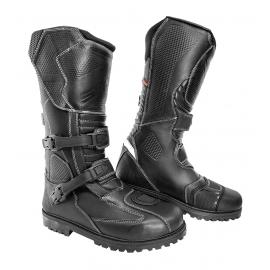 Cestovní moto boty Spark Raiden EVO, černé