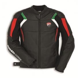 Kožená bunda Ducati Corse C3 černá