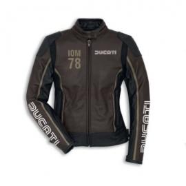 Dámská kožená bunda Ducati IOM 78 C1