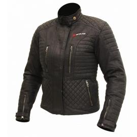 Dámska textilná moto bunda Spark Cintia, čierna