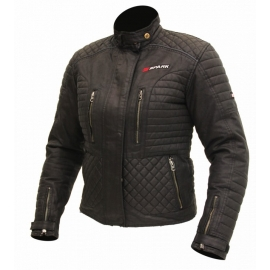 Dámská textilní moto bunda Spark Cintia, černá