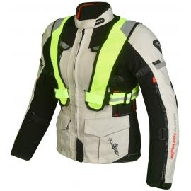 Dámska kožená moto bunda Spark Bora Black