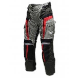 Textilní moto kalhoty Berik NP 10480-BK, šedé