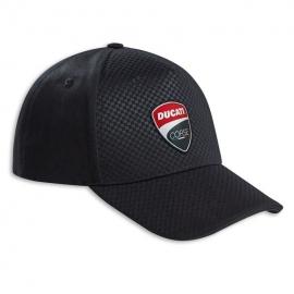 Pánská kšiltovka Ducati Total Black černá, originál