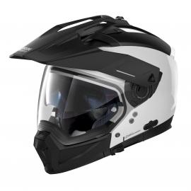 Moto helma Nolan N70-2 X Special N-Com Pure White 15