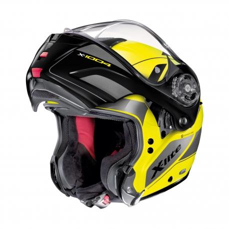 Moto helma X-Lite X-1004 Charismatic N-Com Led Yellow 22