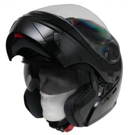 Moto prilba Cyber U-217, čierna