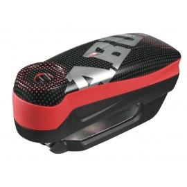Zámok na kotúčovú brzdu s alarmom ABUS Detecto 7000 RS1 PIXEL RED