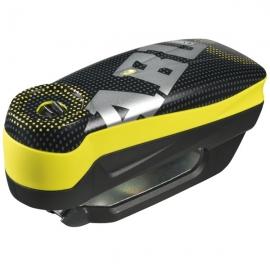 Zámok na kotúčovú brzdu s alarmom ABUS Detecto 7000 RS1 PIXEL YELLOW