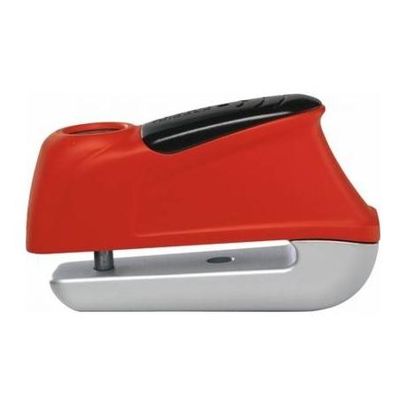 Moto zámok s alarmom na kotúč ABUS Trigger 345 Alarm red