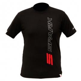Pánské originální tričko Spark, černé