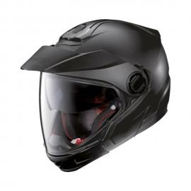Moto helma Nolan N40-5 GT Classic N-Com Flat Black 10