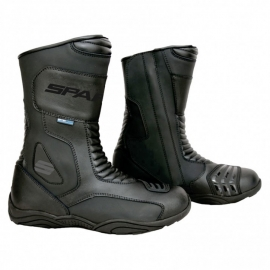 Pánske cestovné moto topánky Spark Bond, čierne