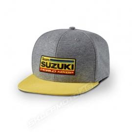 Kšiltovka Suzuki MXGP Team šedá, originál
