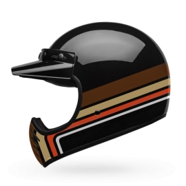 Moto helma Bell Moto 3 RSD Stripes Black Orange