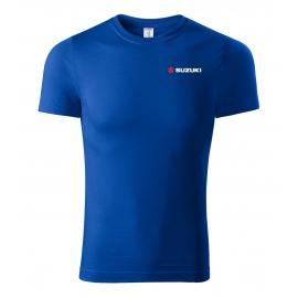 Pánske tričko Suzuki modré