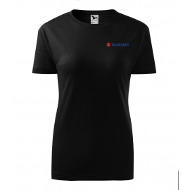 Dámske tričko Suzuki, čierne