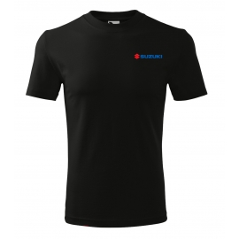 Pánske tričko Suzuki čierne