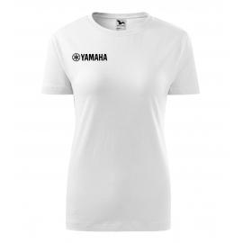 Dámske tričko Yamaha biele