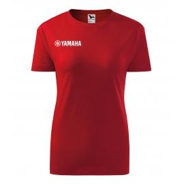 Dámske tričko Yamaha červené