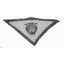 Třícípý šátek motiv Tygr