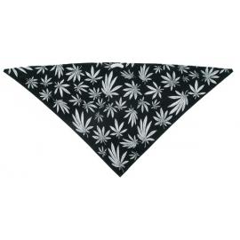 Třícípý šátek motiv Marihuana