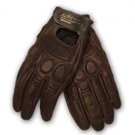 Moto rukavice Dainese BLACKJACK hnědé, kozí kůže