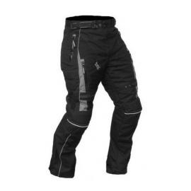 Pánske textilné moto nohavice Spark Viking, čierne