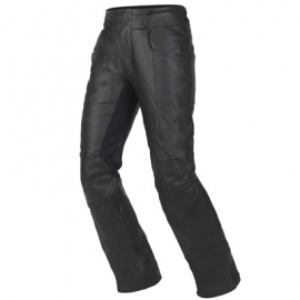Kalhoty dámské V-TWIN vel 2XL, černé, kůže