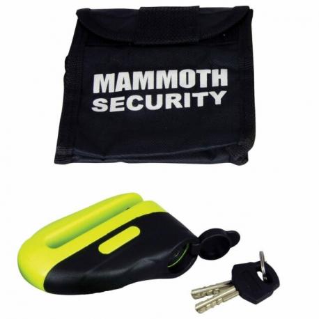 Kotoučový zámek Mammoth 10 mm, Yellow